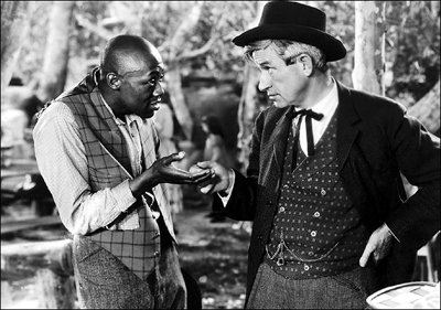 This picture of Stepin Fetchit groveling in a degenerate manner was not the one used by the Post but matches the essence of that missing picture.