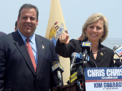 Campaign From Christie Web Site