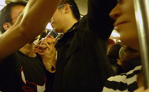 PATH to Jersey City, Halloween, 2009